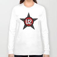 u2 Long Sleeve T-shirts featuring U2 by loveme