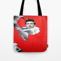 pride Tote Bags featuring Pride by Mimi Rico
