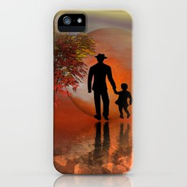 sky is on fire and I must go -2- iPhone Case