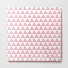 Coral Triangle Pattern Metal Print