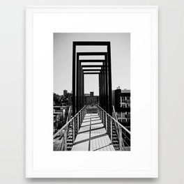Booth Street Stairs Framed Art Print