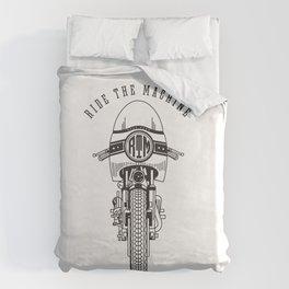 Ride The Machine Duvet Cover