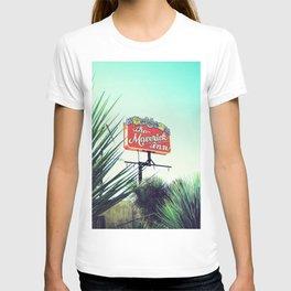 Sign, Maverick Inn T-shirt