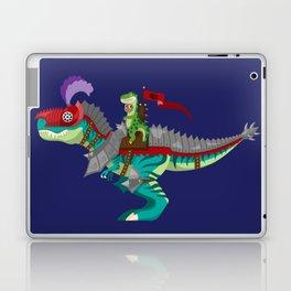 Dino Knight T-Rex Laptop & iPad Skin