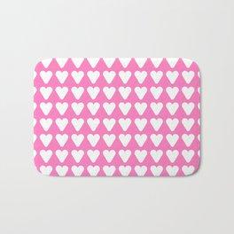 heart and love 17- pink Bath Mat