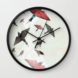 Tied Down Wall Clock