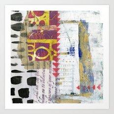 Collage 1 Art Print
