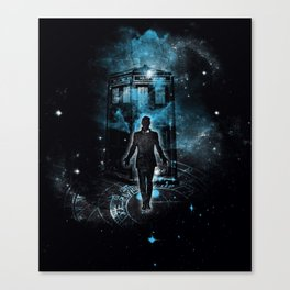 Time Traveller Canvas Print
