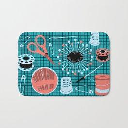 pins and needles Bath Mat