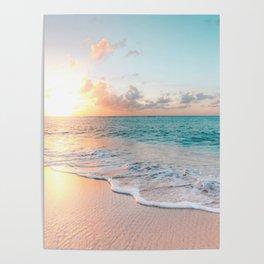 Pink Sea Poster
