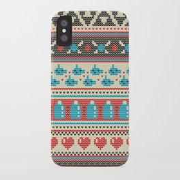 Fair-Hyle Knit iPhone Case