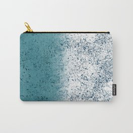 Two Toned Blues Carry-All Pouch