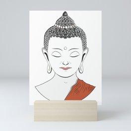 Life of Buddha Mini Art Print