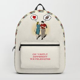 On Vastly Different Wavelengths Backpack