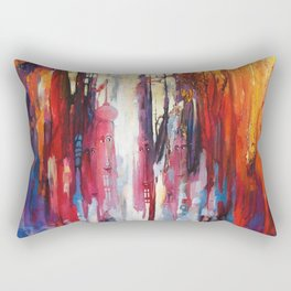 City of Charm Rectangular Pillow