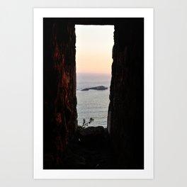 A Distant View Art Print