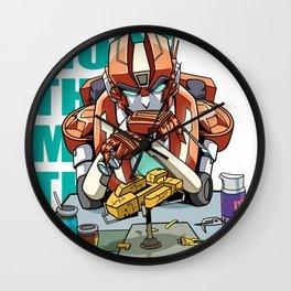 MTMTE Rung Wall Clock