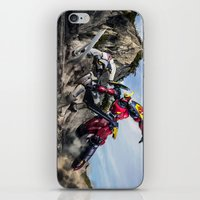 gurren lagann iPhone & iPod Skins featuring gurren battle by romar