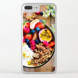 Goodness Clear iPhone Case