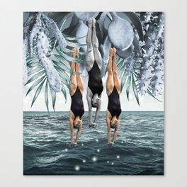 Dive Into Canvas Print