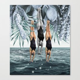 Dive Into Canvas Print