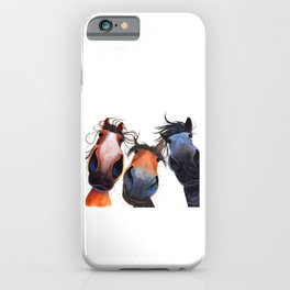 WHo LeFT THe GaTe OPeN? BY SHiRLeY MacARTHuR iPhone Case