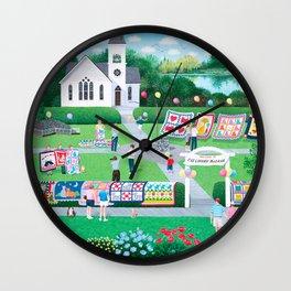 Cat Lovers Bazaar Wall Clock