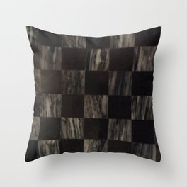 Marble and onyx squares Throw Pillow