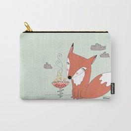 un renard dans la cours Carry-All Pouch