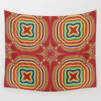 kaleidoscope Wall Tapestries featuring Kaleidoscope by David Zydd