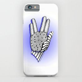 Go Forth and Prosper Zentangle Greeting iPhone Case