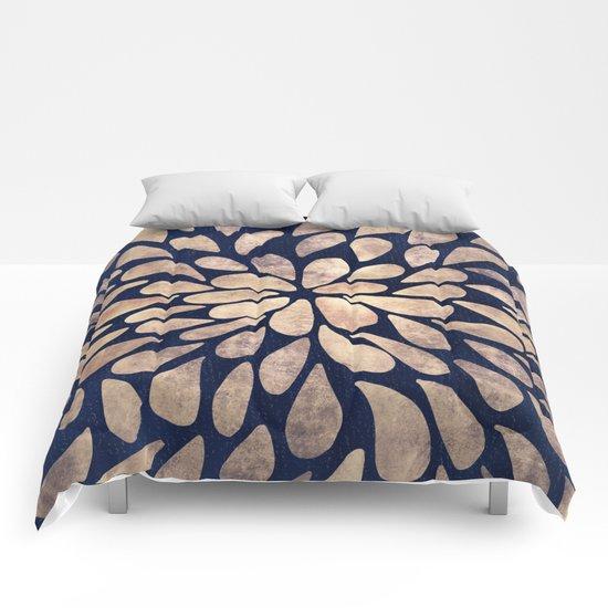 Petal Burst #4 Comforters
