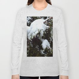 snow trees IIII Long Sleeve T-shirt