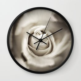 pinhole rose square Wall Clock