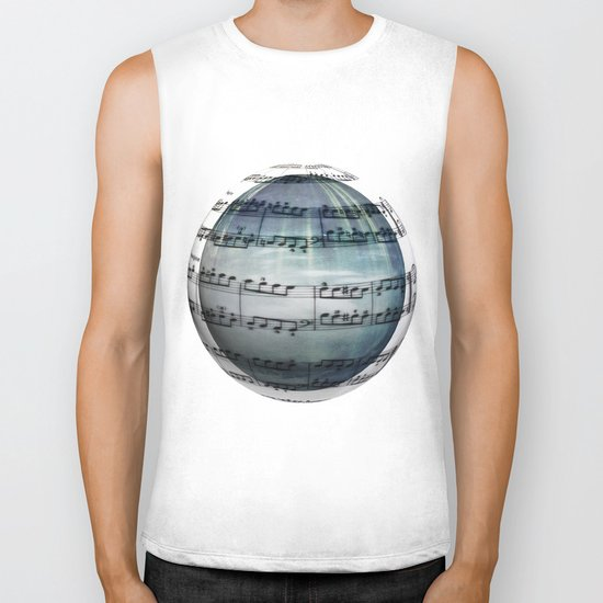Music is My World Biker Tank