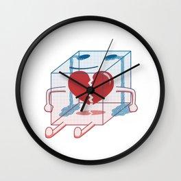 Little Box of Broken Heart Wall Clock
