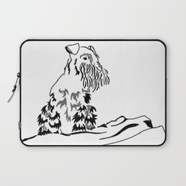 Schnauzer Tribal Laptop Sleeve