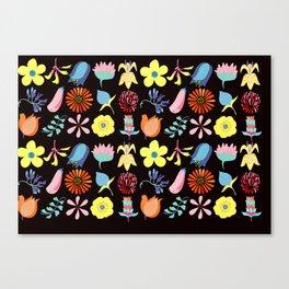 Flowers of Flotta Canvas Print