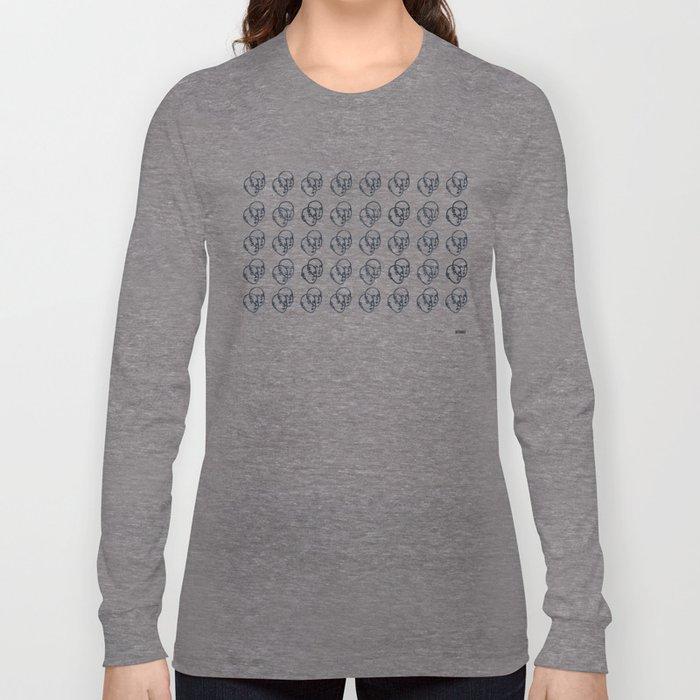 Double Faces Long Sleeve T-shirt