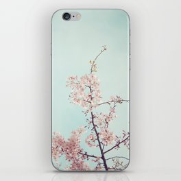 Spring happiness iPhone Skin