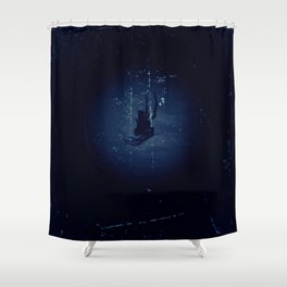 Some Things Lurk in the Darkness Shower Curtain
