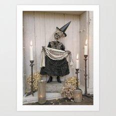 Rucus Studio Muerte - Dia de los Muertos Art Print