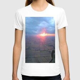 Flying at Sunset (Full Sutton) T-shirt