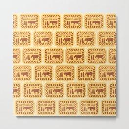 Malted Milk Medley Metal Print