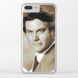 Larry Hagman, Actor Clear iPhone Case