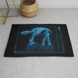 At-At Anatomy Rug