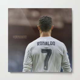 CR7 no7 Metal Print