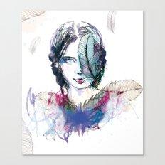 Plum' Canvas Print
