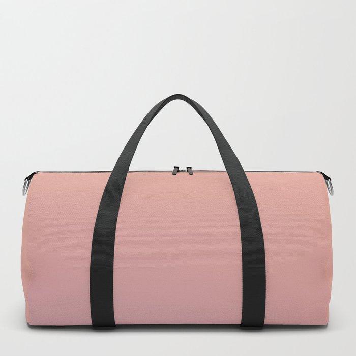 AFTER THOUGHTS - Minimal Plain Soft Mood Color Blend Prints Duffle Bag