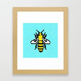 Honey Bee Framed Art Print